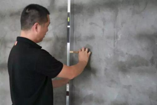 >>>>墙面水泥砂浆找平平整度检测